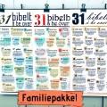 FAMILIEPAKKE BØNNEPLAKATER (3 for 2)